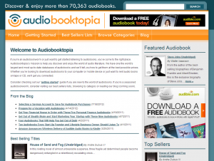 Audiobooktopia was an early attempt of mine to build an online business.