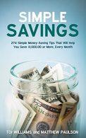 Simple Savings Book