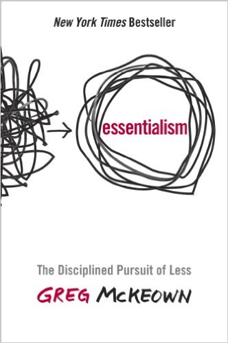 Essentialism is one of the best business books for entrepreneurs