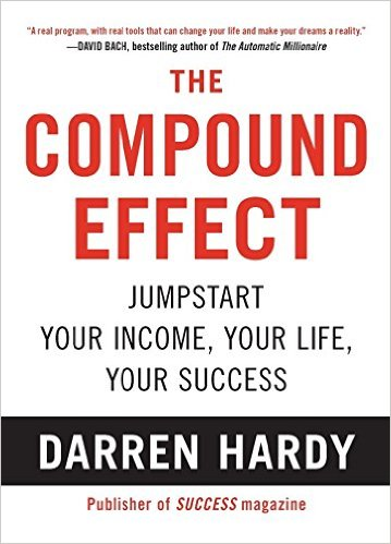 The compound effect is one of the best business books for entrepreneurs