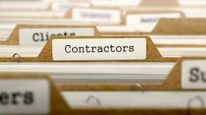 contractors file vs having employees