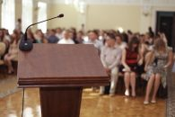 public speaking is a way to leverage your blog