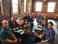 A picture from the first Open Startup Coffee event in Sioux Falls