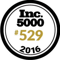 inc 5000 number 529 badge 2016