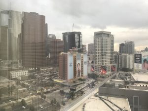 My view from the JW Marriot in downtown LA