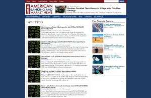 American Banking and Market News